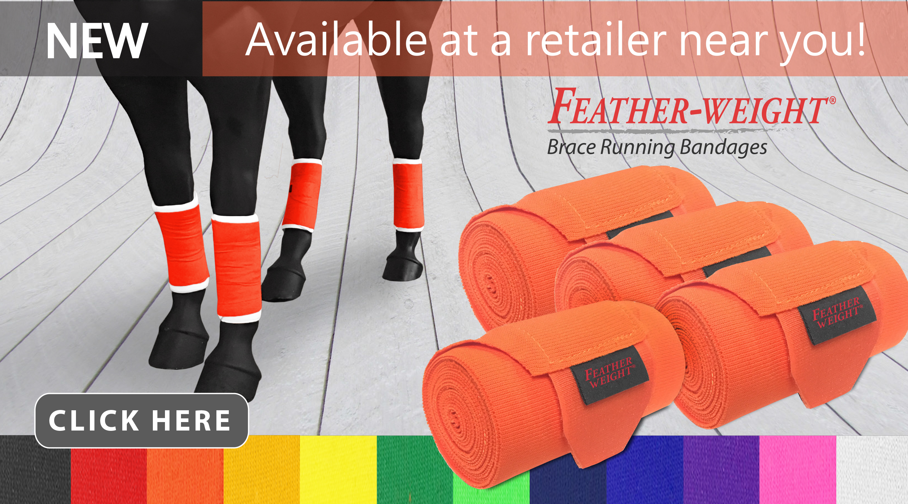 New at JACKS - Feather-Weight Brace Running Bandages