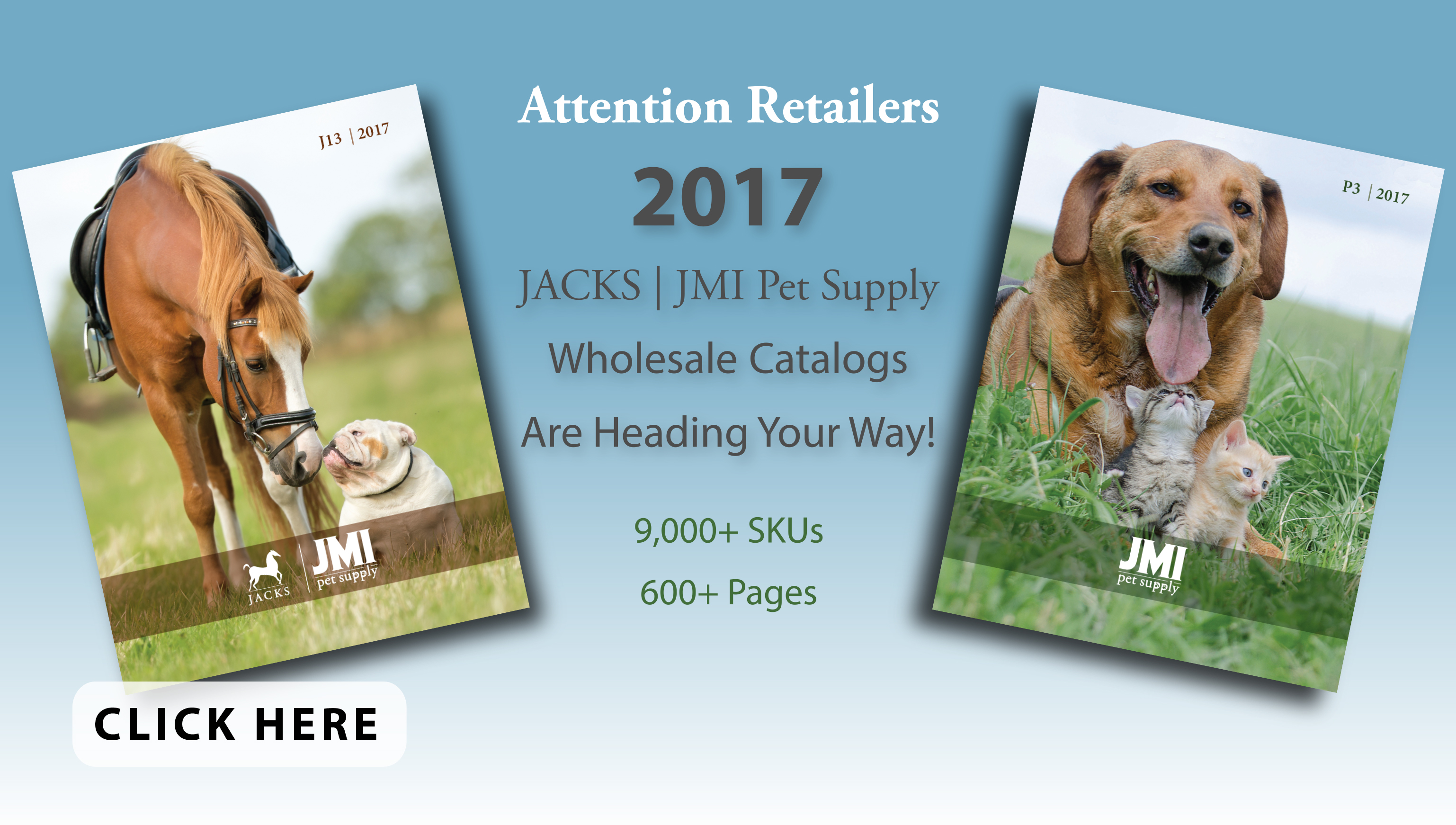 New Catalogs at JACKS and JMI Pet Supply