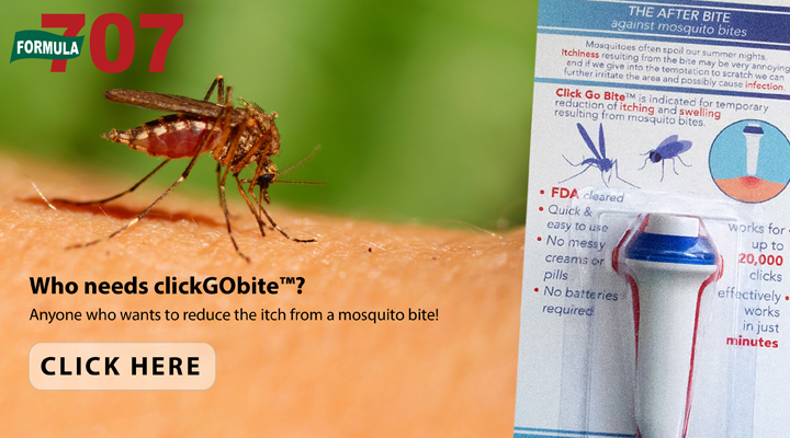 Ditch the Itch with ClickGObite™