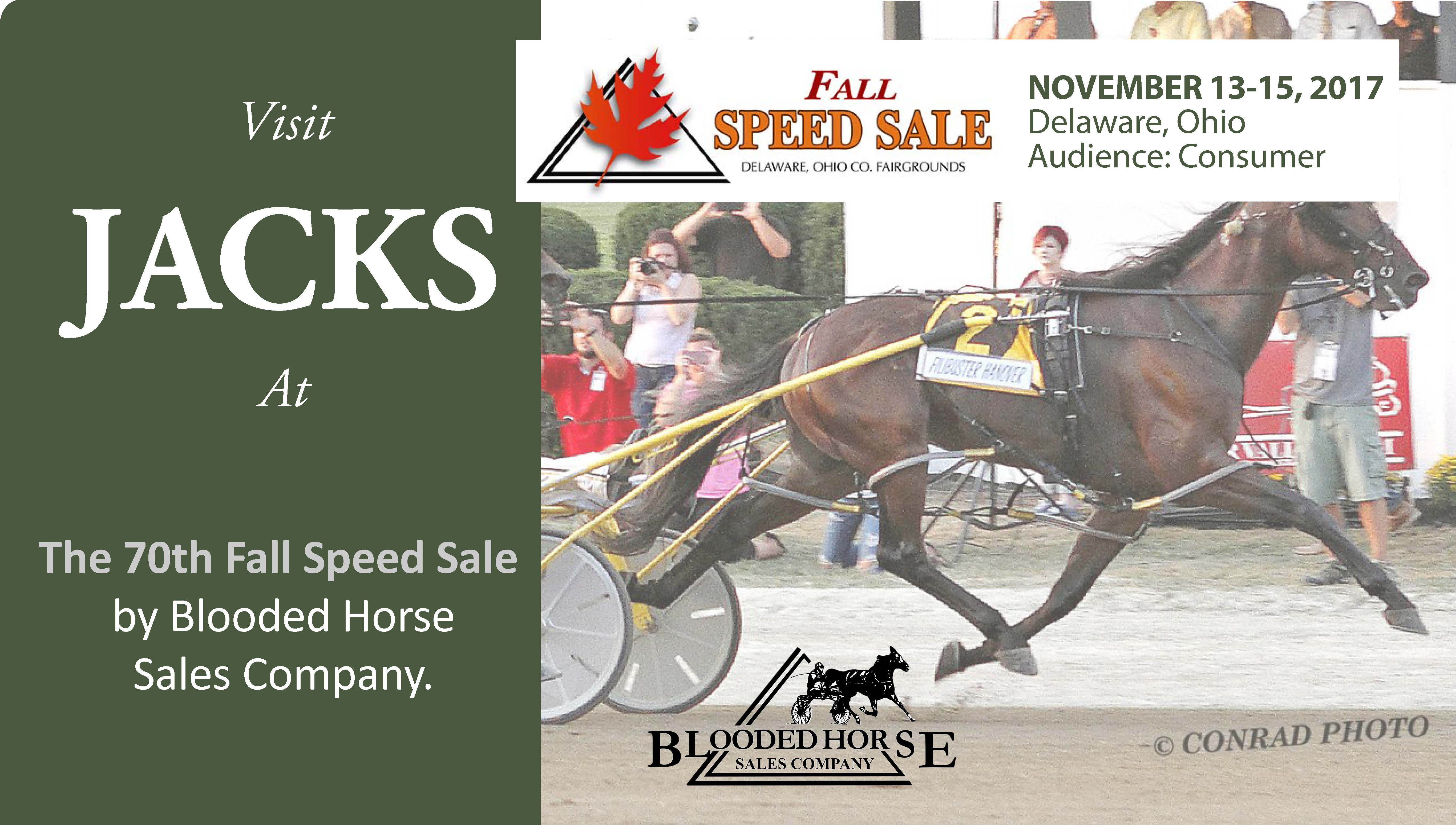 Visit JACKS at the Delaware, Ohio Fall Sale