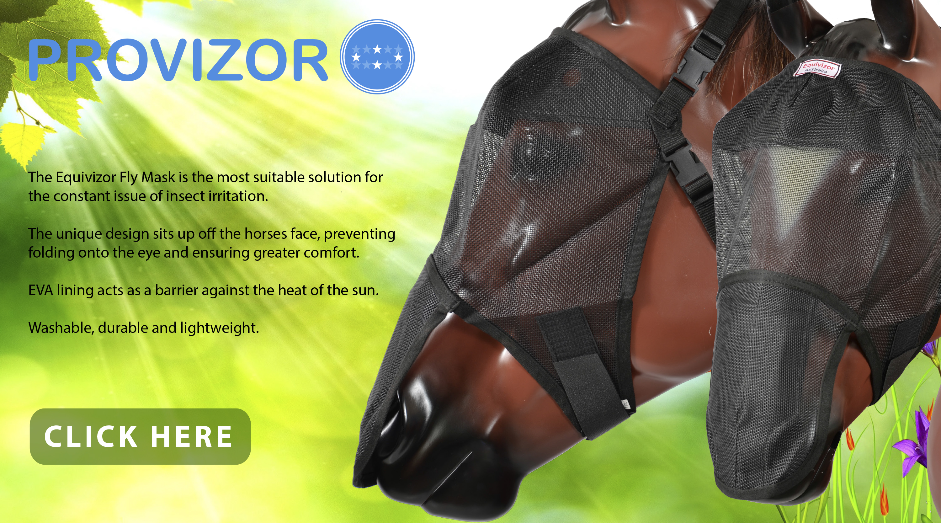 Equivizor™ Fly Masks at JACKS