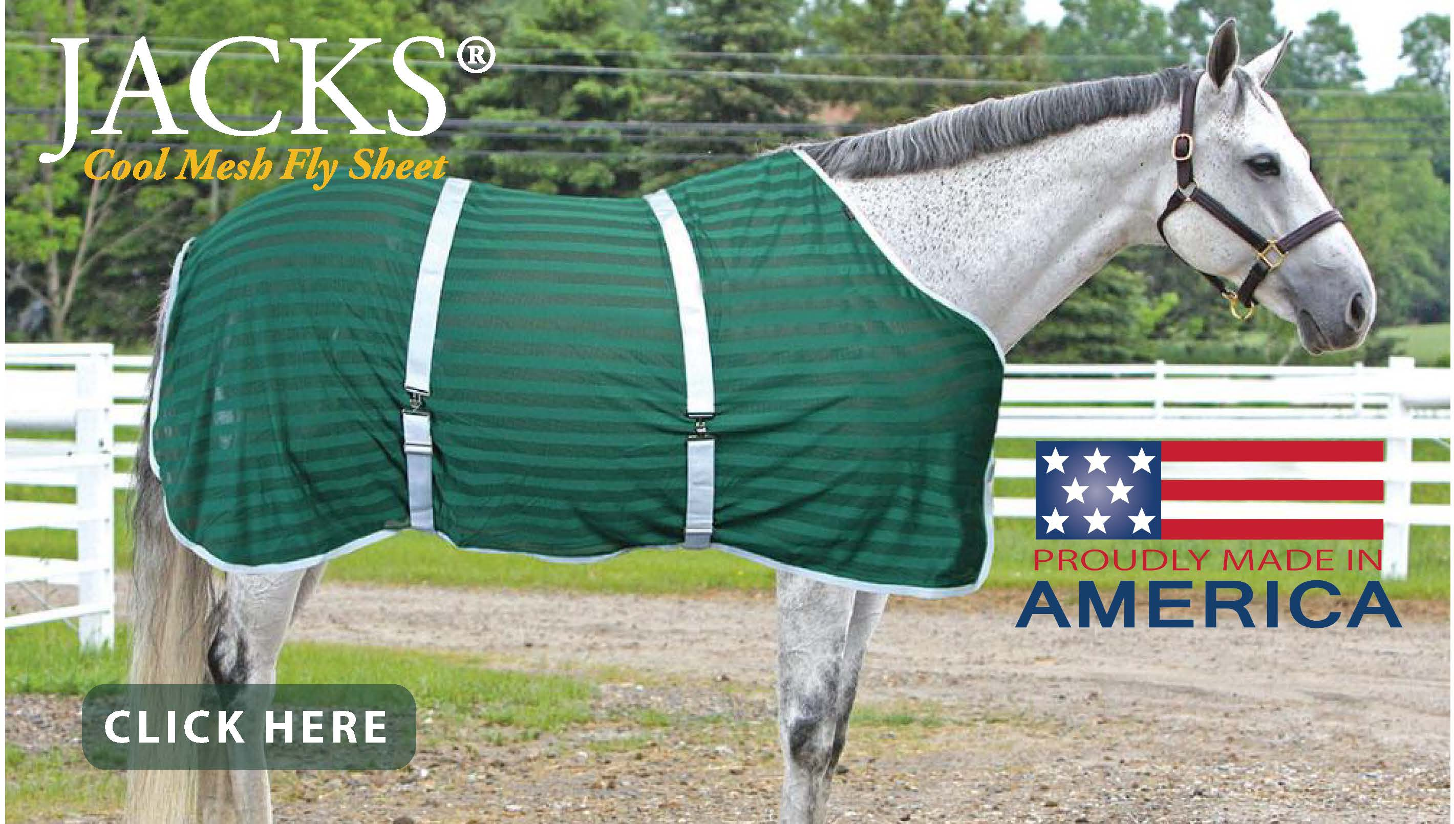 New from JACKS - Cool Mesh Fly Sheets