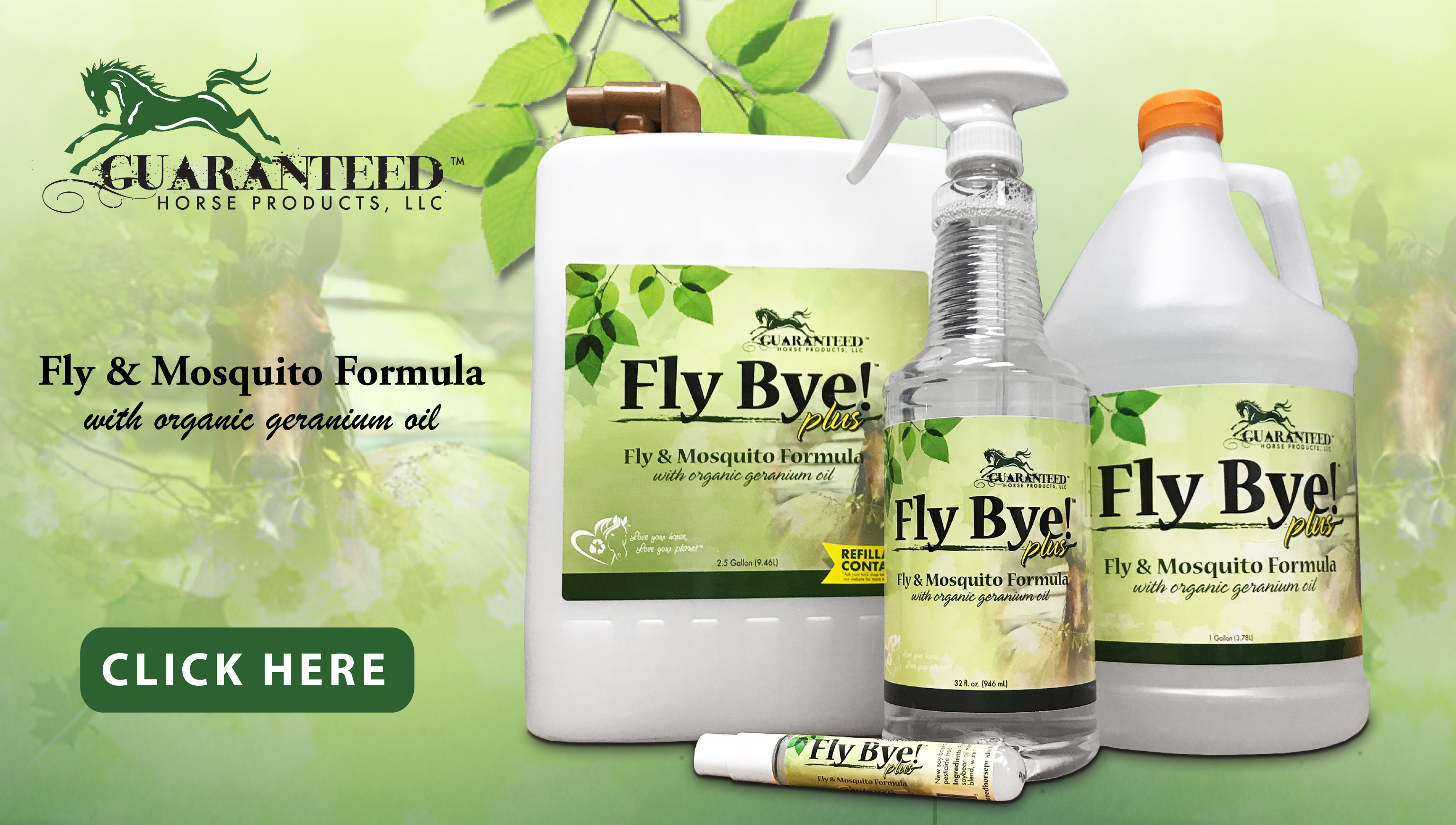 Fly Bye! Plus from Guaranteed Horse Products