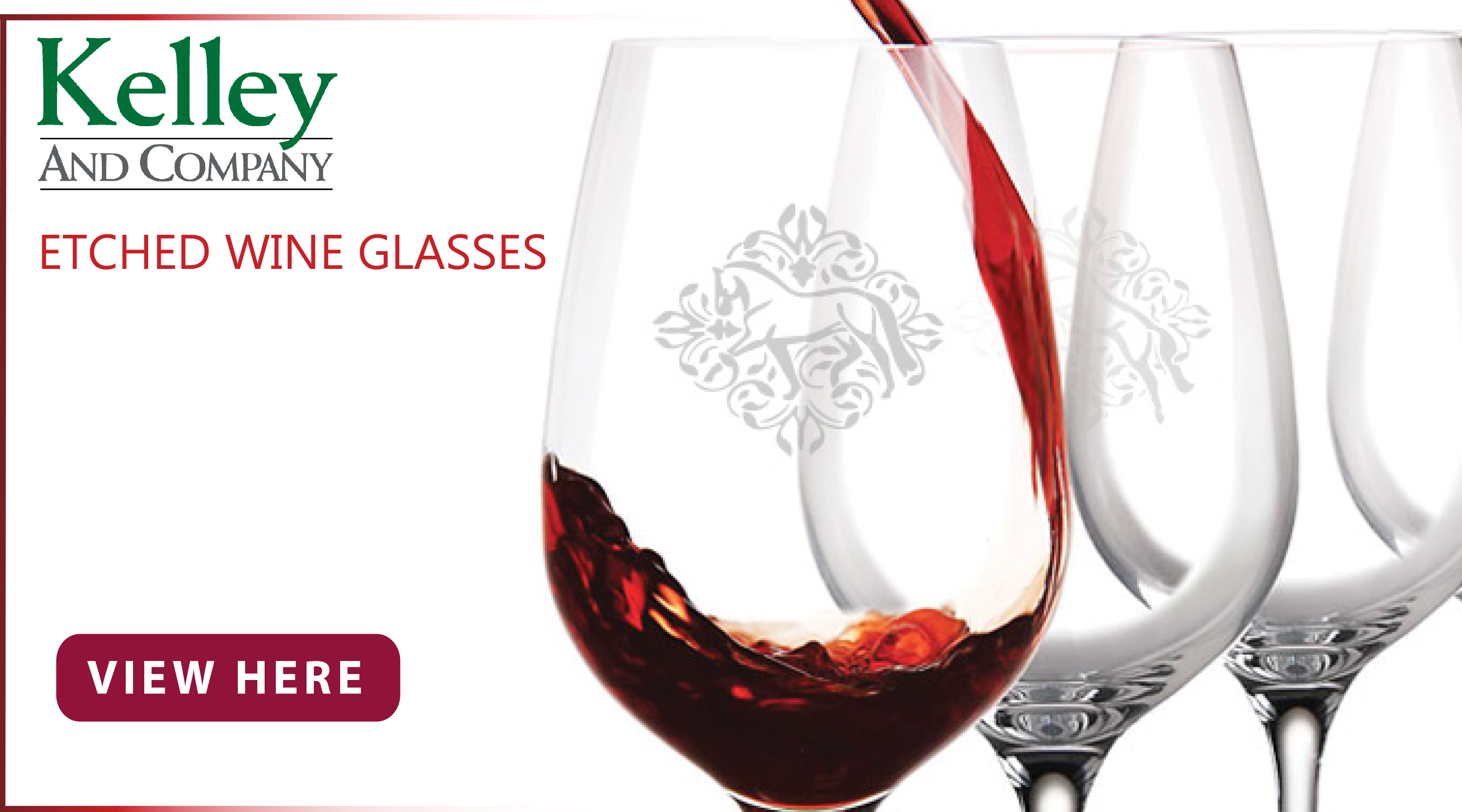 New at Jacks Inc. - Kelley and Co. Wine Glasses