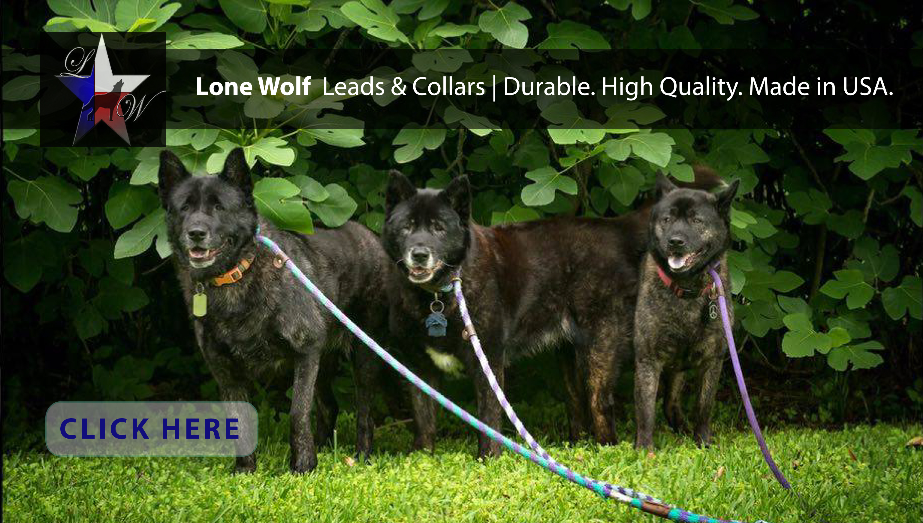 New at JMI Pet Supply - Lone Wolf Pet Products