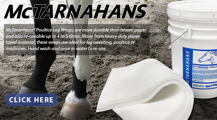 New from JACKS - McTarnahans Poultice Leg Wraps