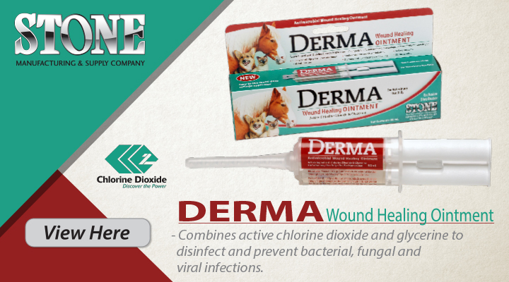 New at Jacks Inc. - DERMA Wound Healing Ointment