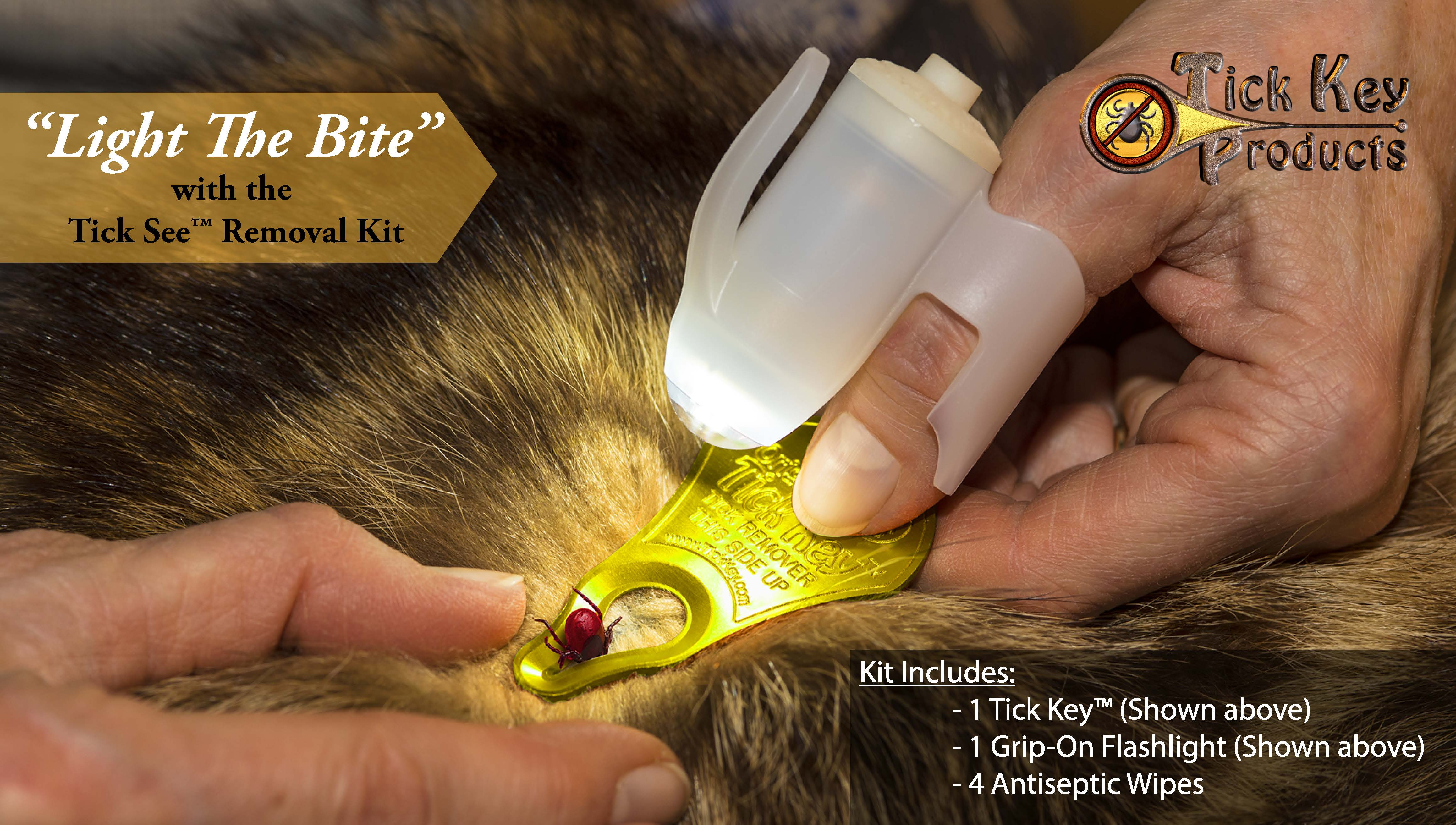 New at JACKS and JMI Pet Supply - Tick Key™ and TickSee™