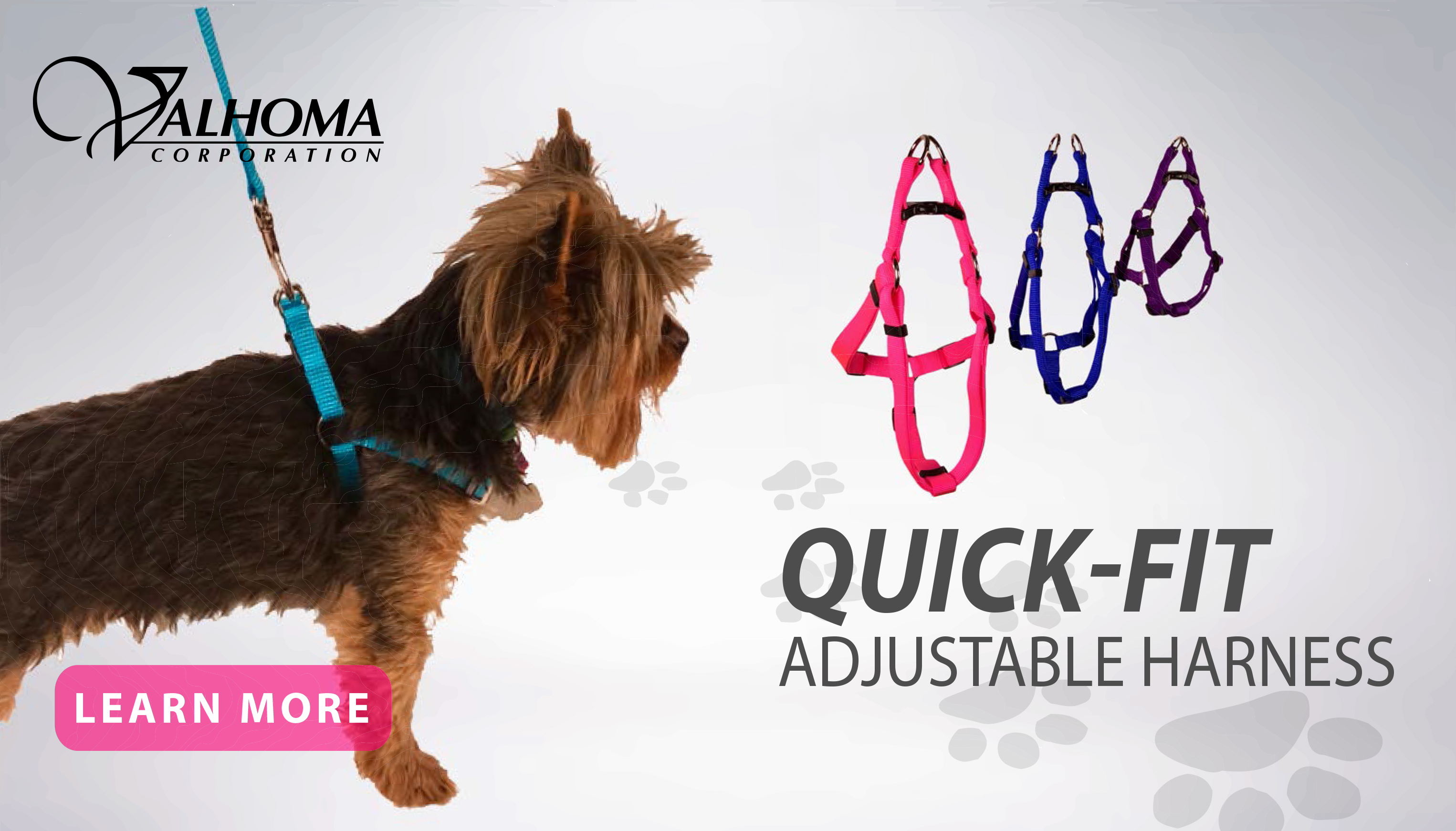 New at JMI Pet Supply – Valhoma Quick-Fit Adjustable Harness