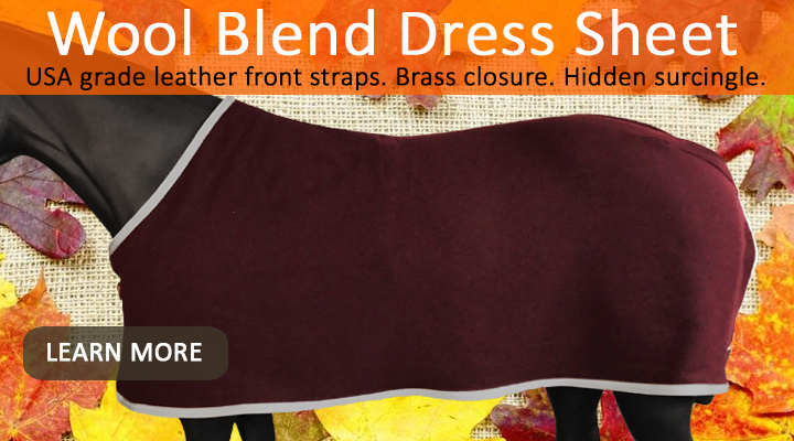 New from JACKS – Wool Blend Dress Sheets