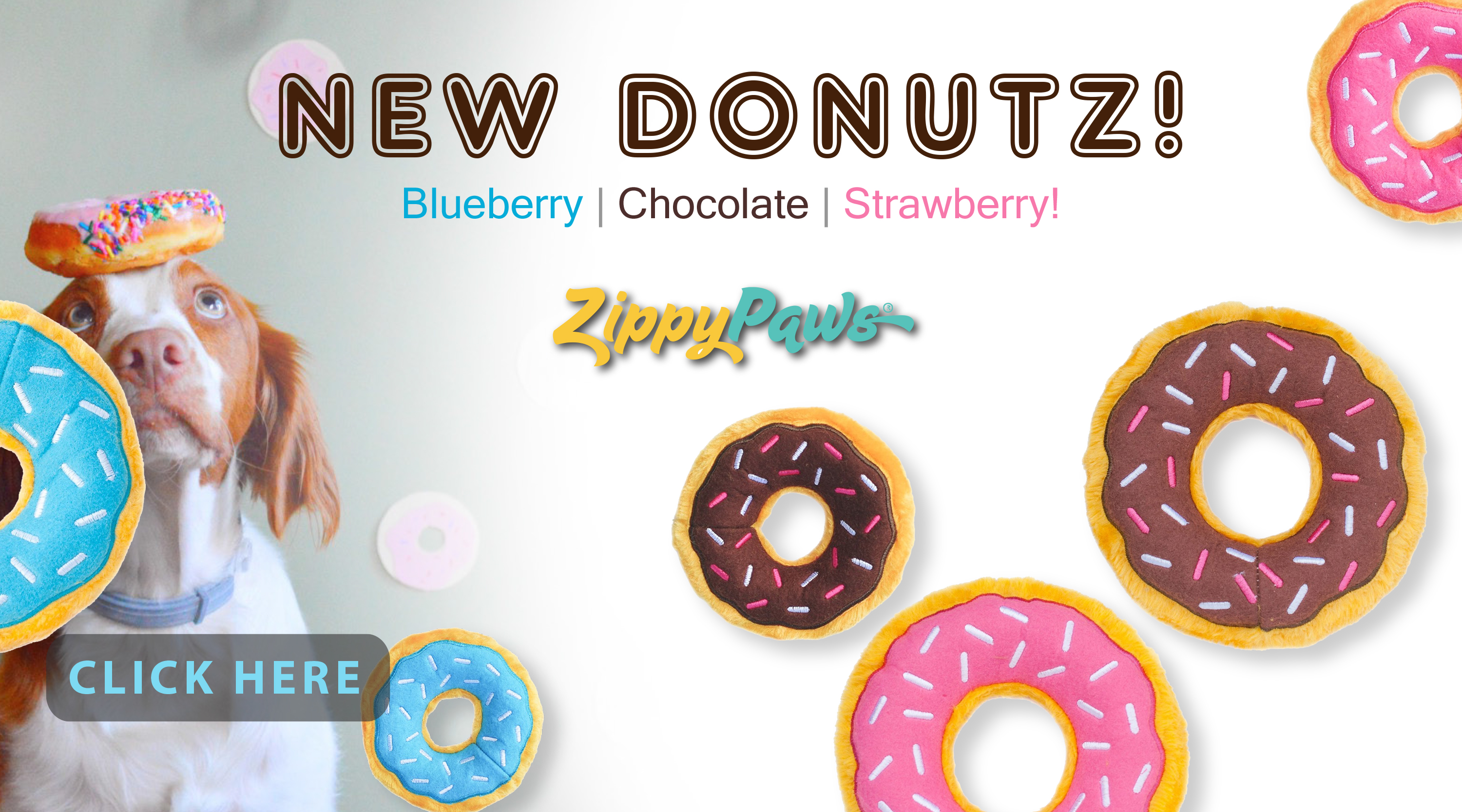 New at JMI Pet Supply - Zippy Paws Donutz